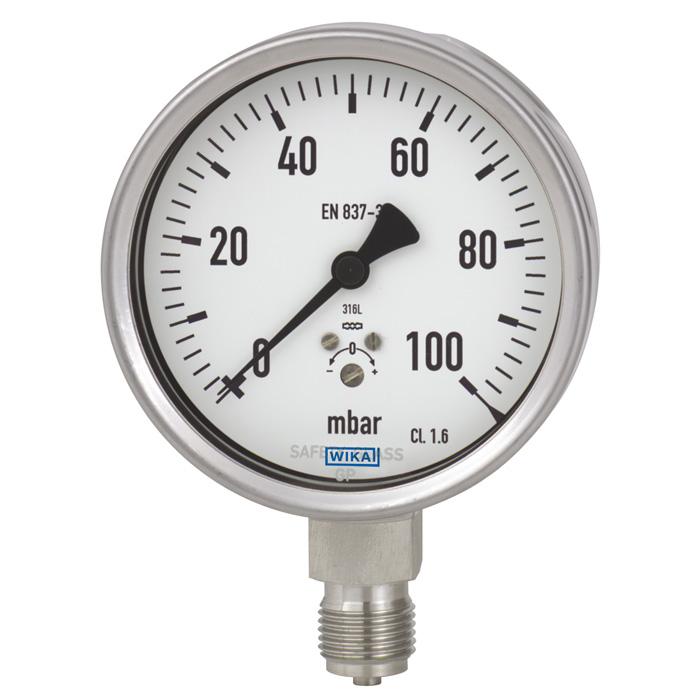 Đồng hồ đo áp suất- những điều cần biết khi lựa chọn đồng hồ áp suất